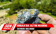 Erbaa'da Altın Madeni Cevheri Bulundu