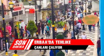 Erbaa'da Tehlike Çanları Çalıyor